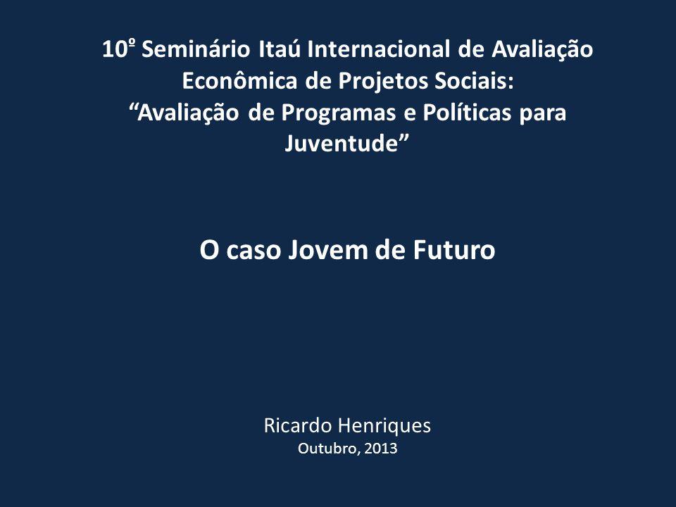 Avaliação de Programas e Políticas para Juventude