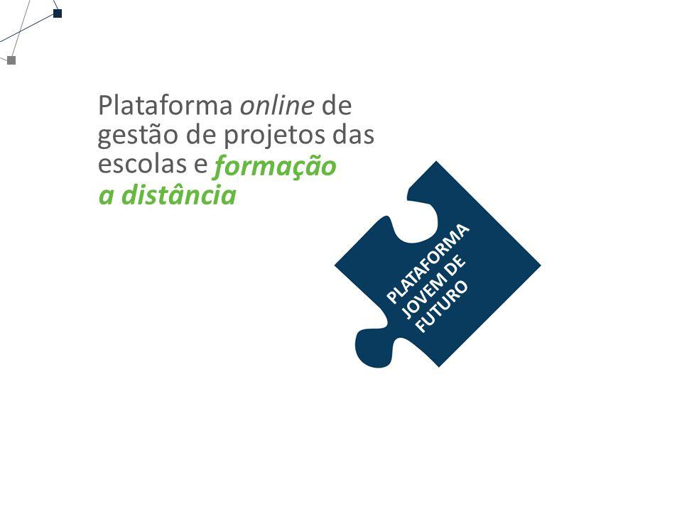 Plataforma online de gestão de projetos das escolas e
