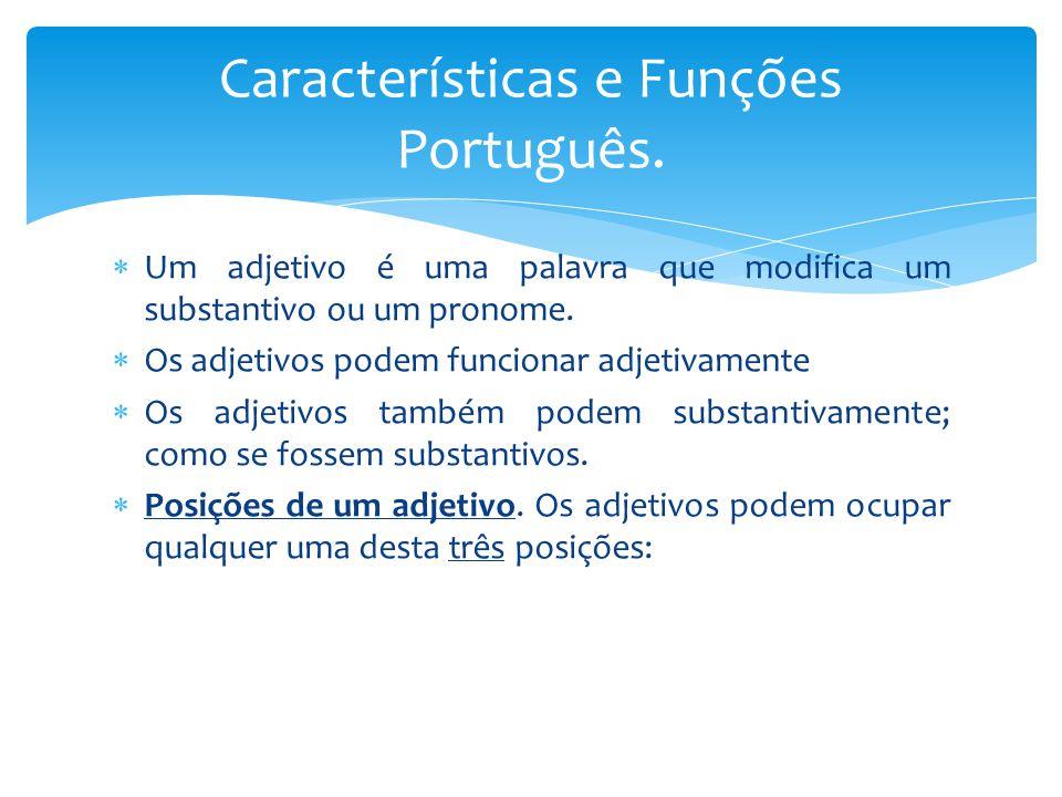 Características e Funções Português.