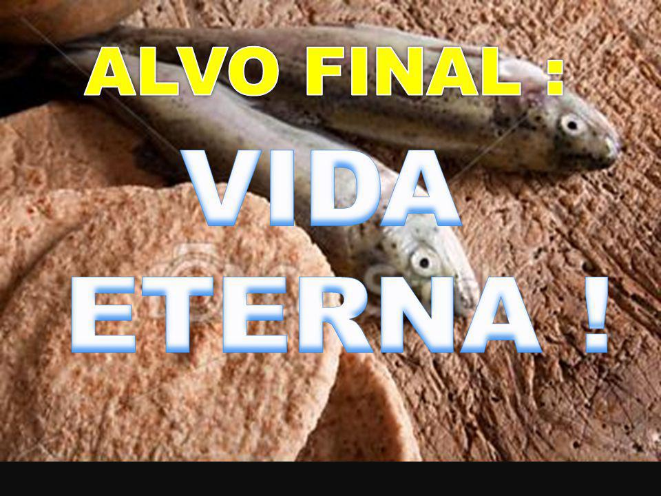 ALVO FINAL : VIDA ETERNA !