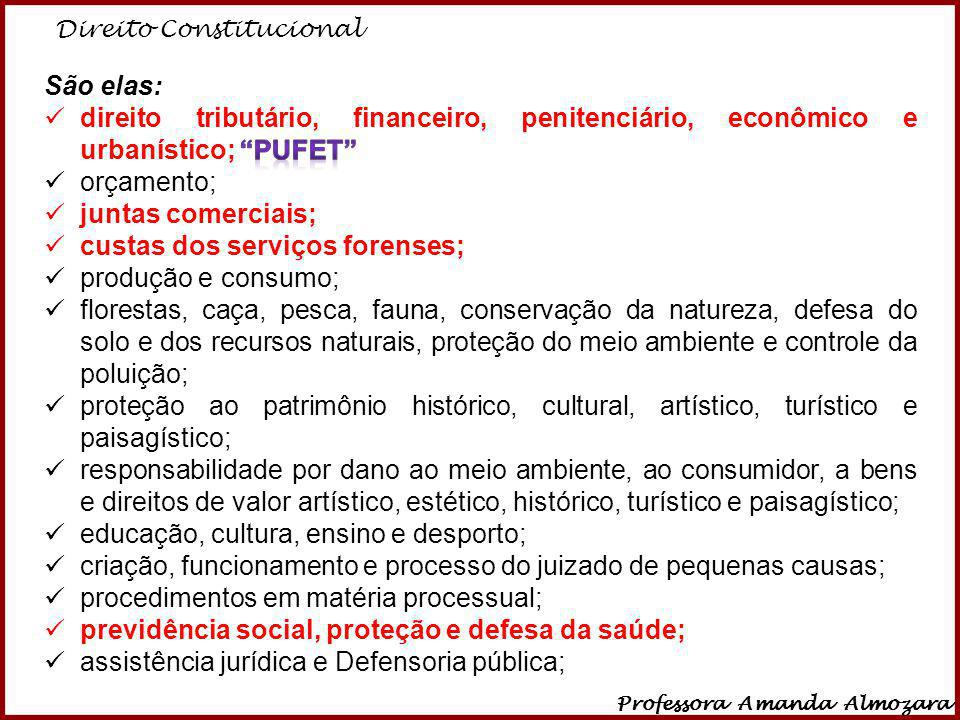 custas dos serviços forenses; produção e consumo;