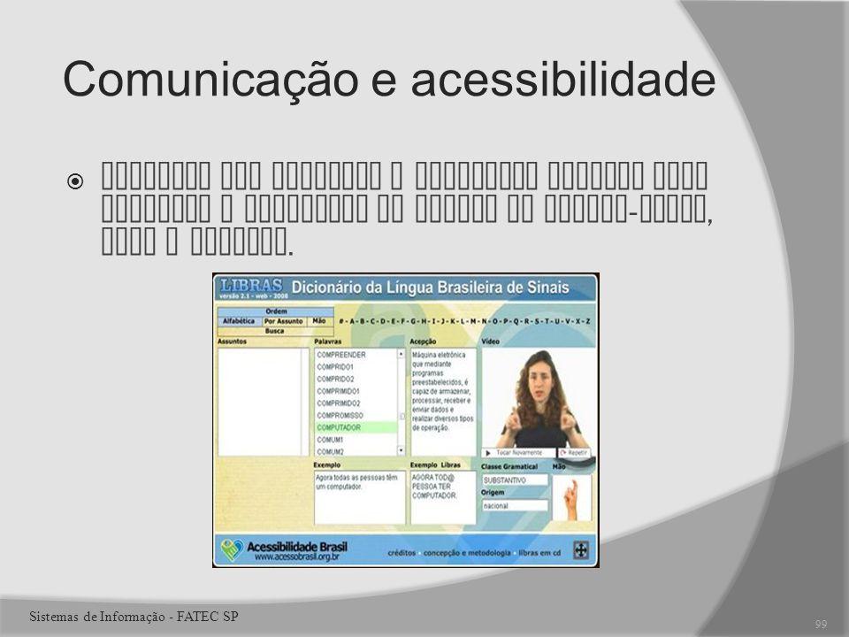 Comunicação e acessibilidade
