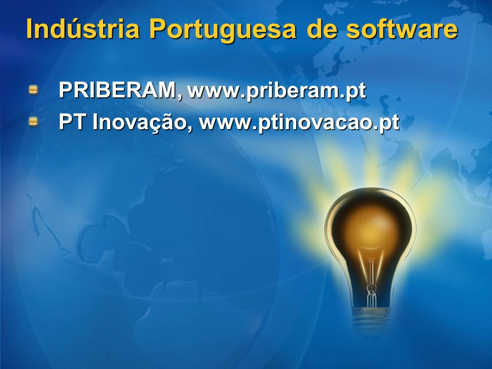 Indústria Portuguesa de software