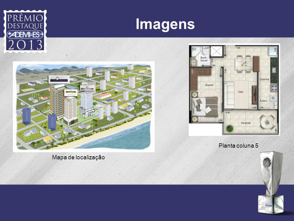 Imagens Planta coluna 5 Mapa de localização
