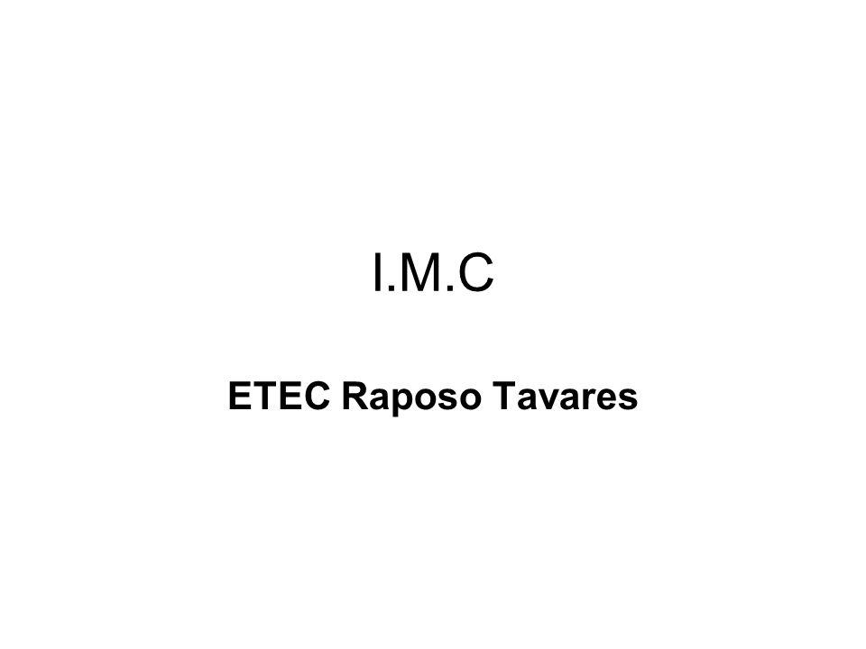I.M.C ETEC Raposo Tavares