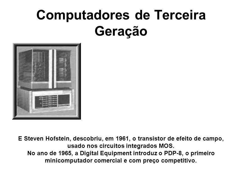 Computadores de Terceira Geração