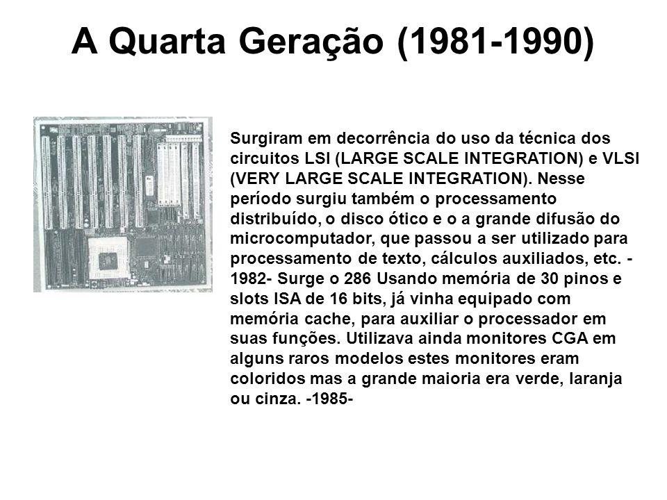A Quarta Geração (1981-1990)