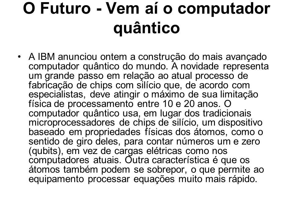 O Futuro - Vem aí o computador quântico