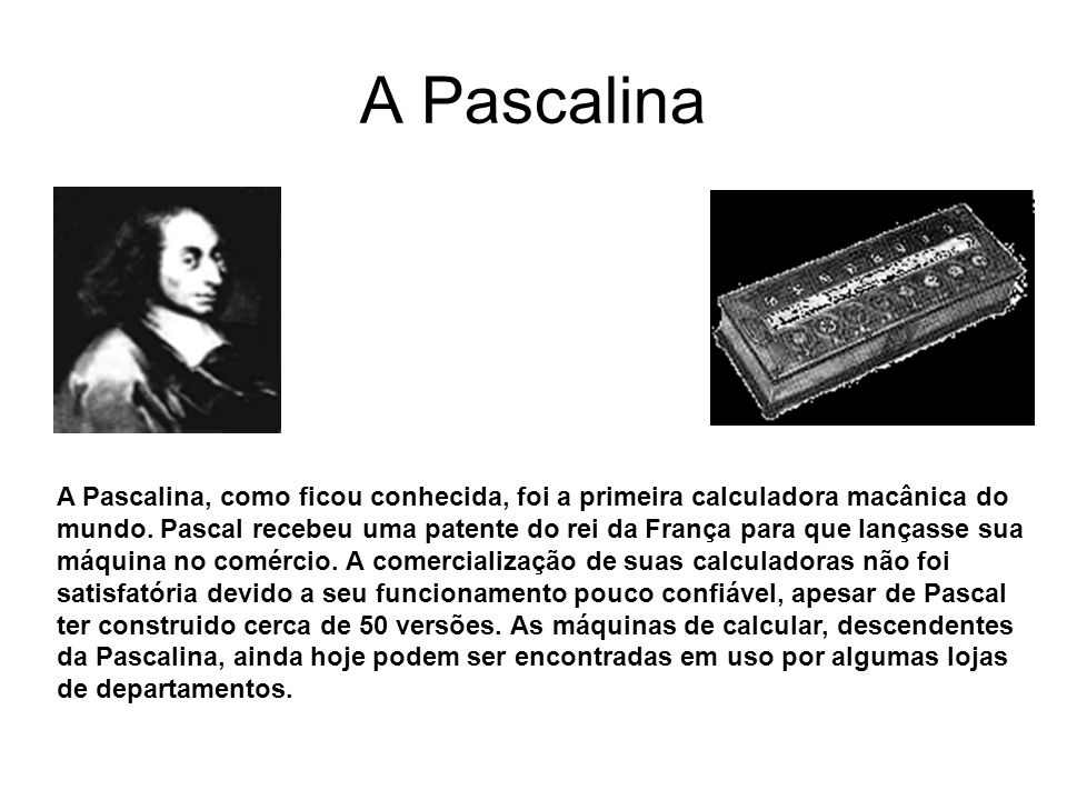 A Pascalina