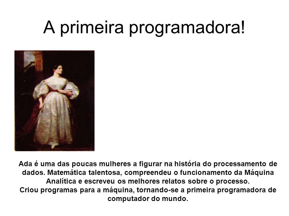 A primeira programadora!