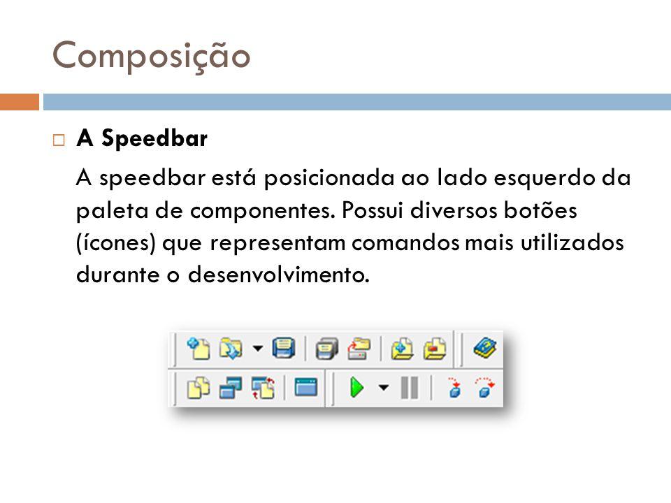 Composição A Speedbar.