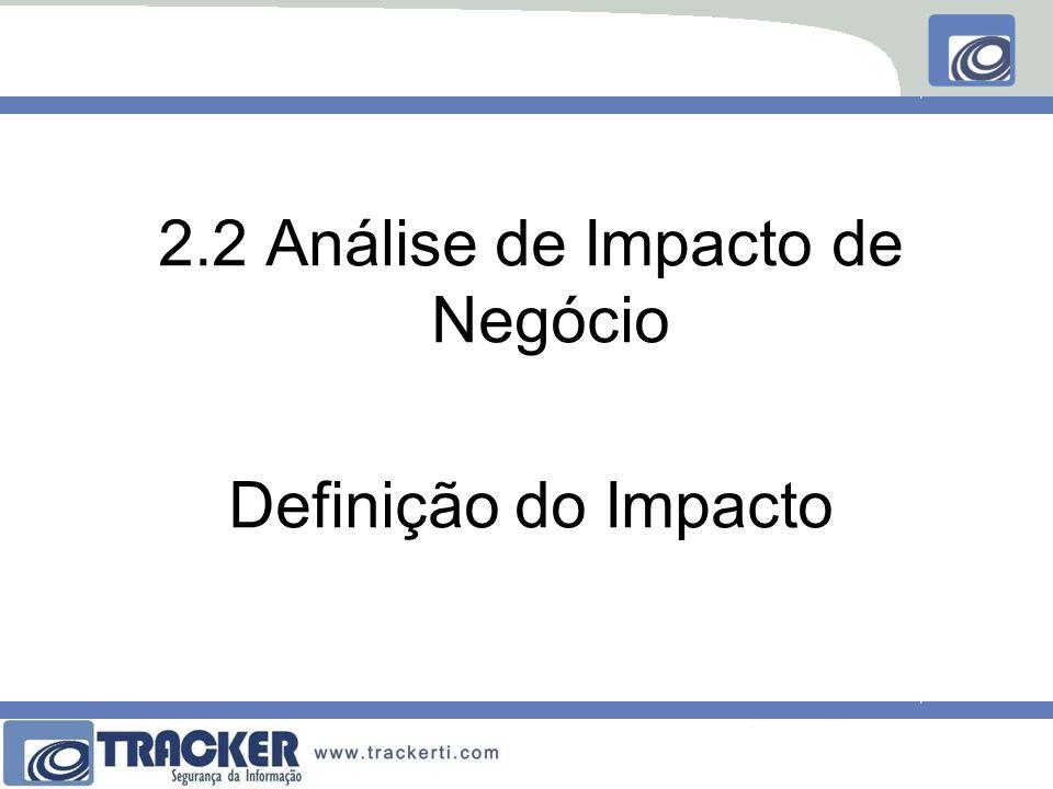 2.2 Análise de Impacto de Negócio