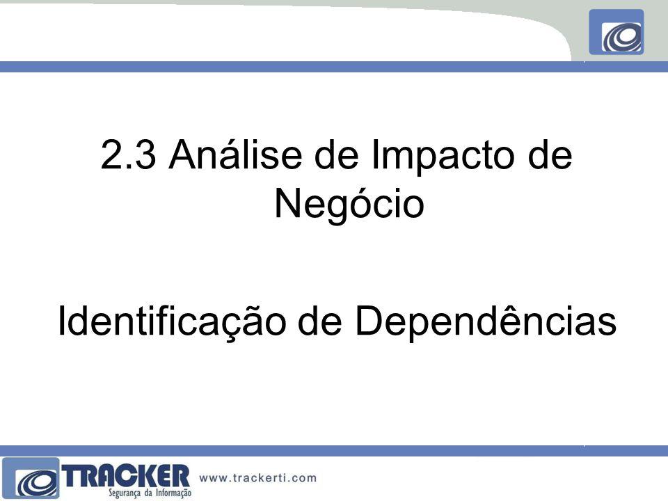 2.3 Análise de Impacto de Negócio