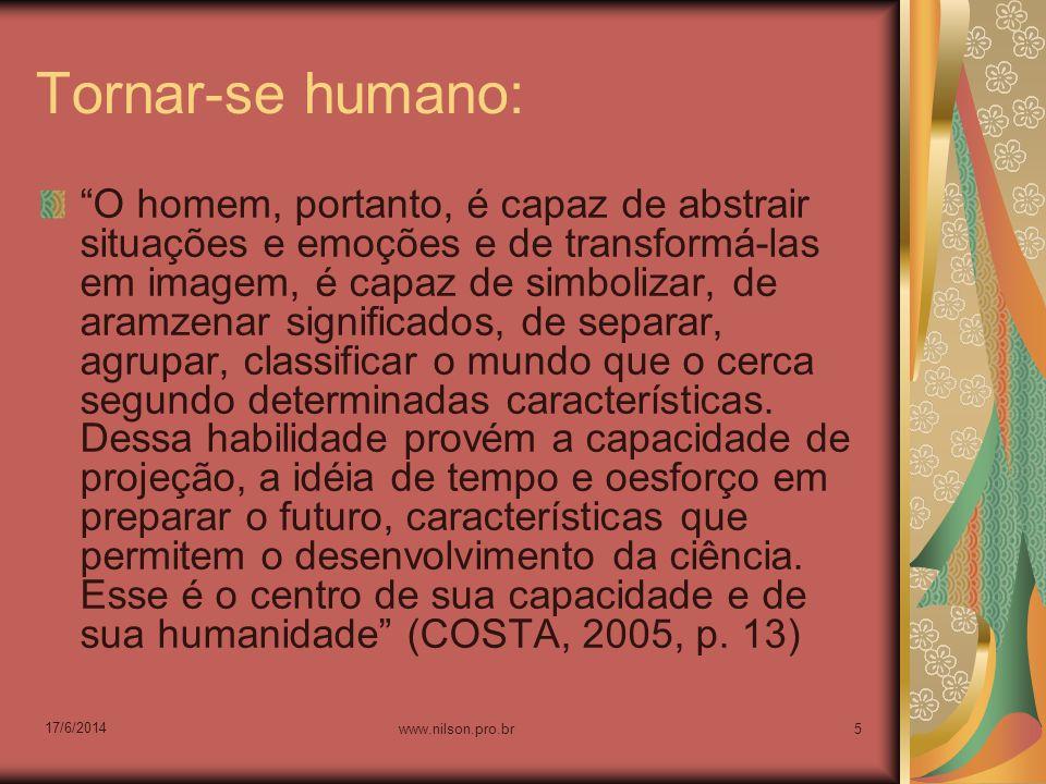 Tornar-se humano:
