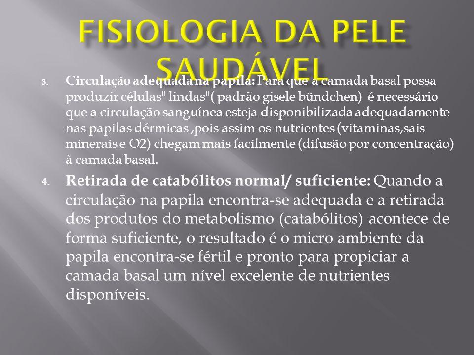 Fisiologia da Pele Saudável