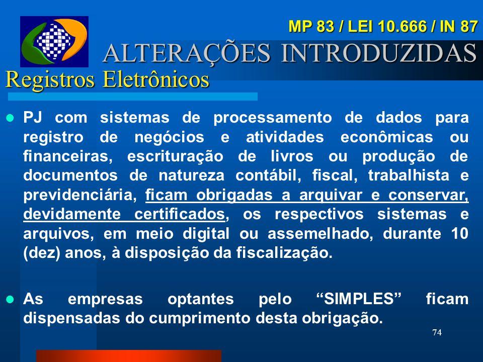 Registros Eletrônicos