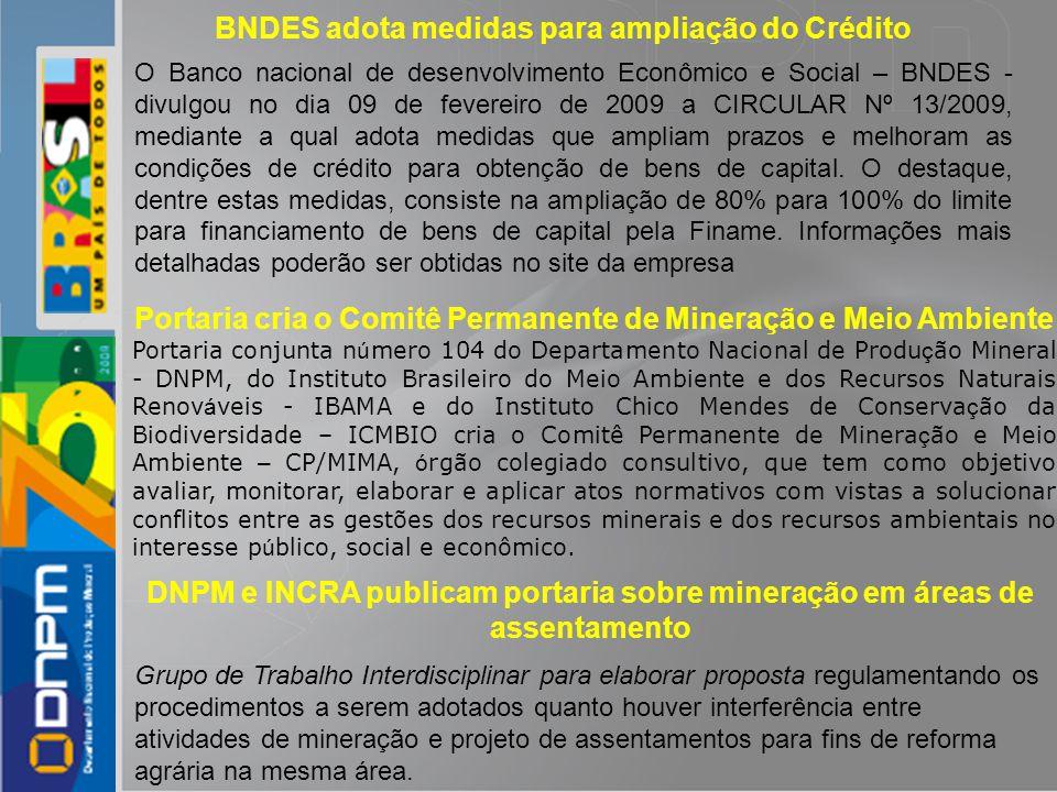 BNDES adota medidas para ampliação do Crédito
