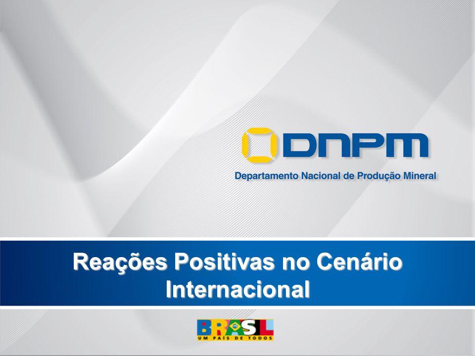 Reações Positivas no Cenário Internacional