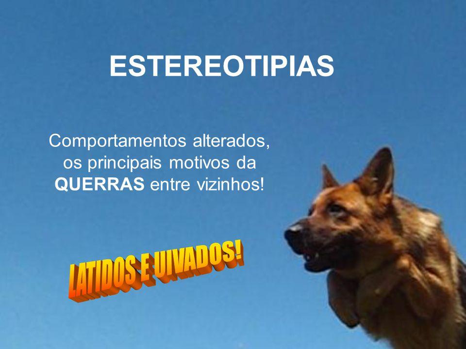 ESTEREOTIPIAS LATIDOS E UIVADOS!