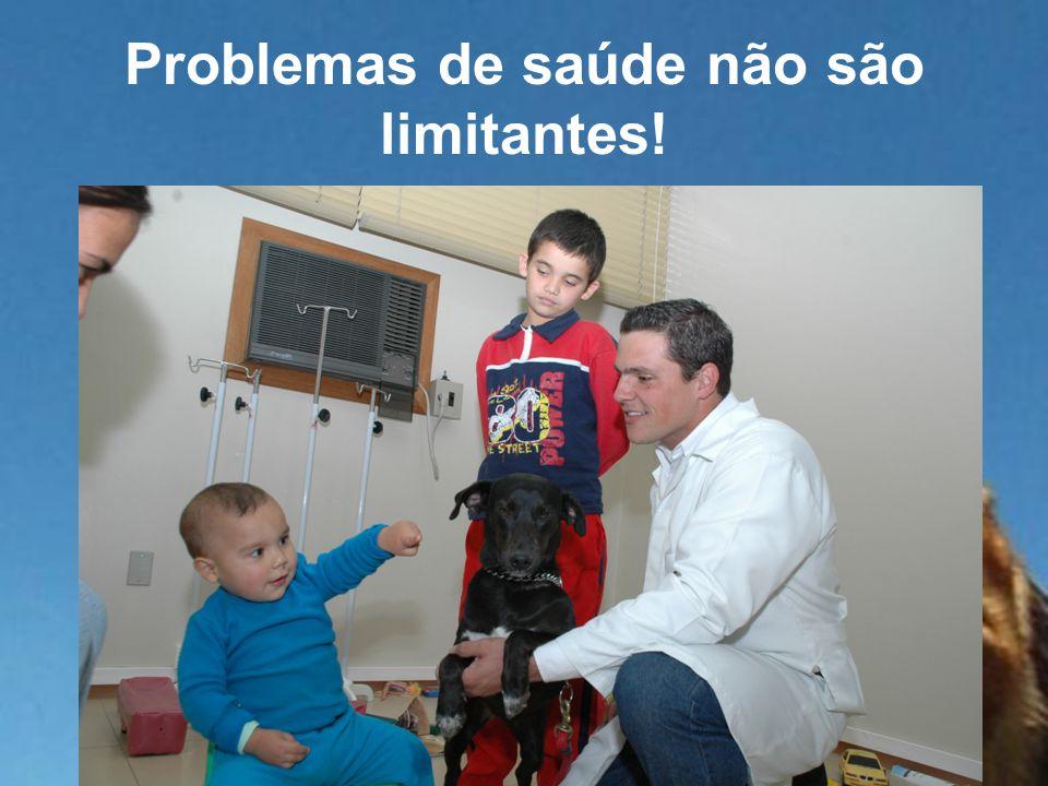 Problemas de saúde não são limitantes!