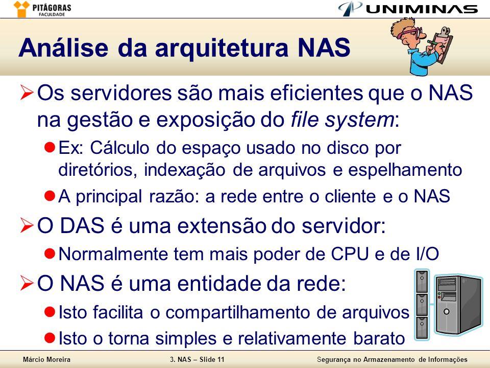 Análise da arquitetura NAS