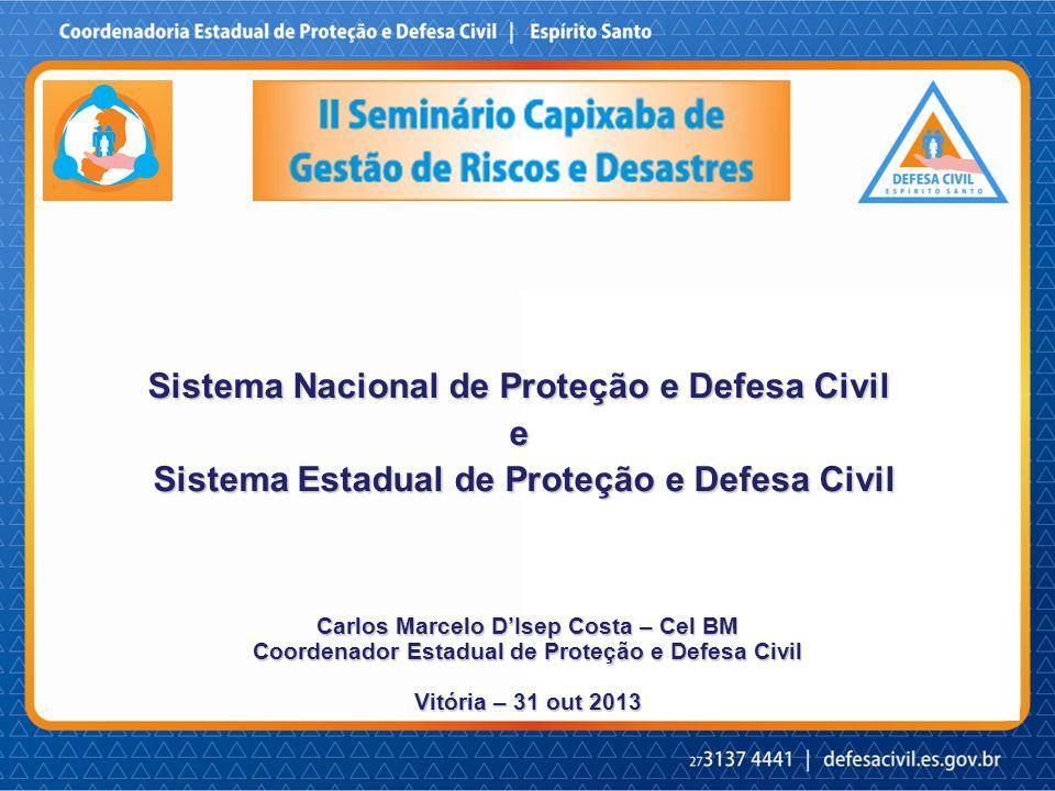 Sistema Nacional de Proteção e Defesa Civil e