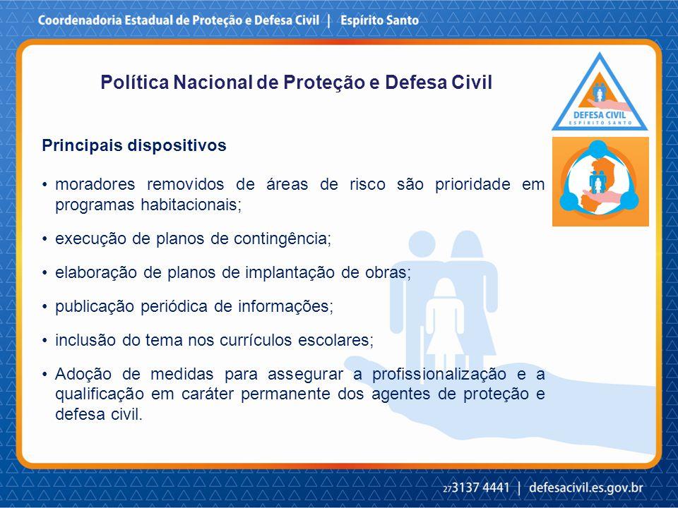 Política Nacional de Proteção e Defesa Civil