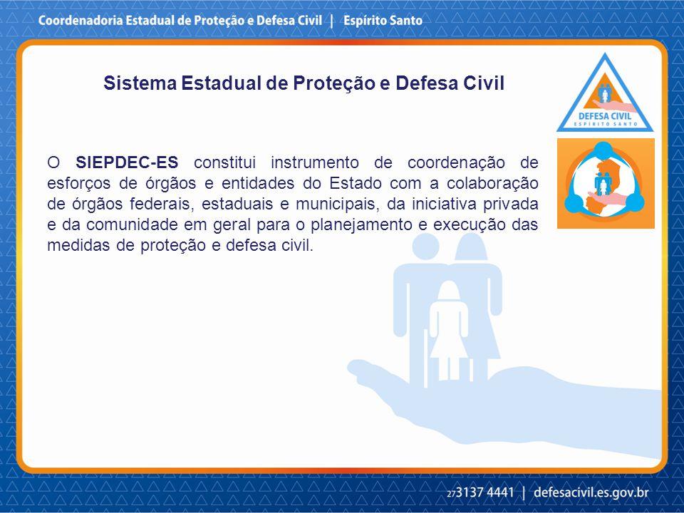 Sistema Estadual de Proteção e Defesa Civil