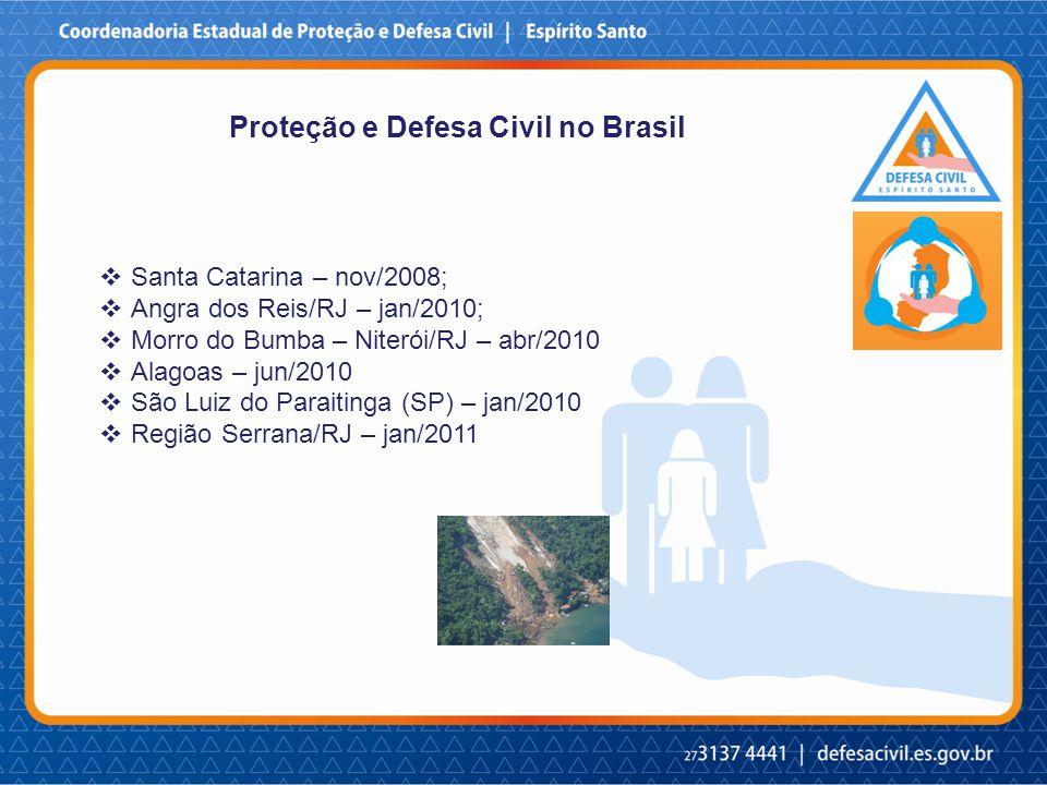 Proteção e Defesa Civil no Brasil