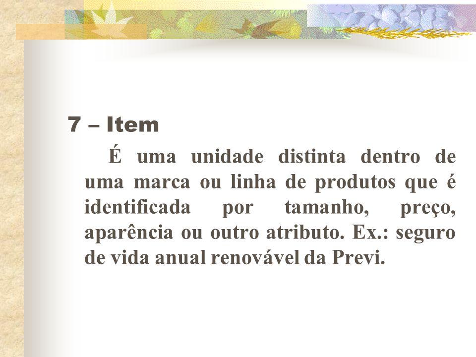7 – Item