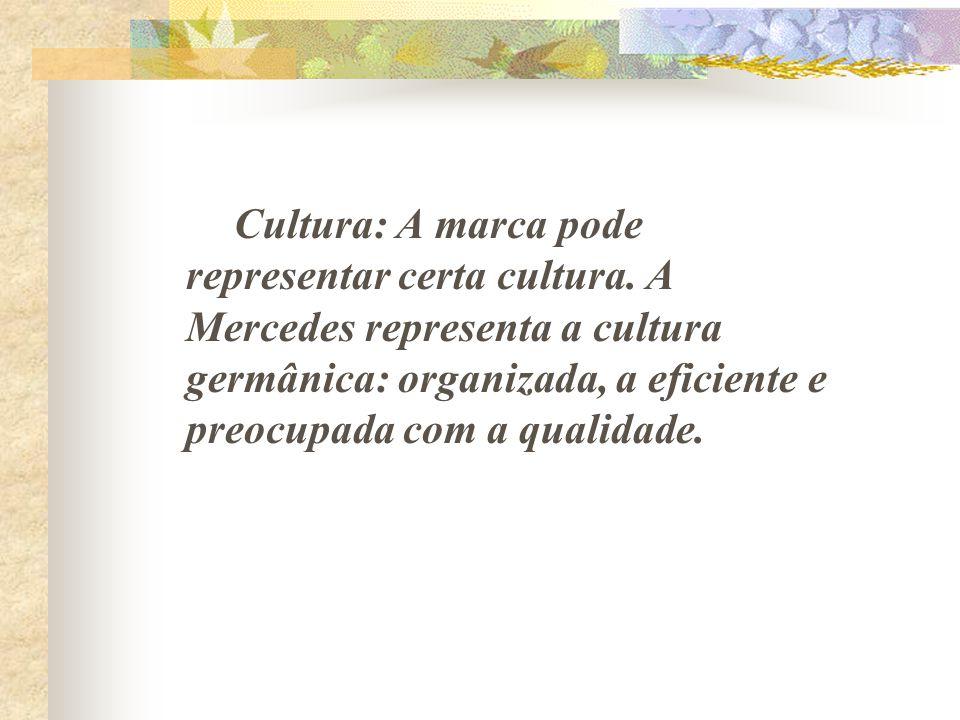 Cultura: A marca pode representar certa cultura