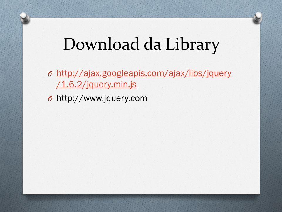Download da Library http://ajax.googleapis.com/ajax/libs/jquery/1.6.2/jquery.min.js.