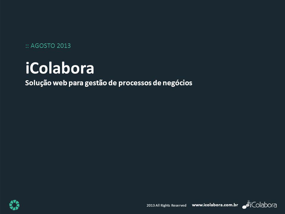 iColabora Solução web para gestão de processos de negócios