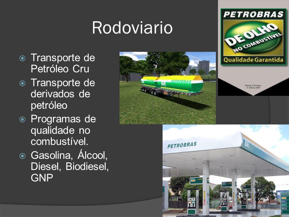 Rodoviario Transporte de Petróleo Cru