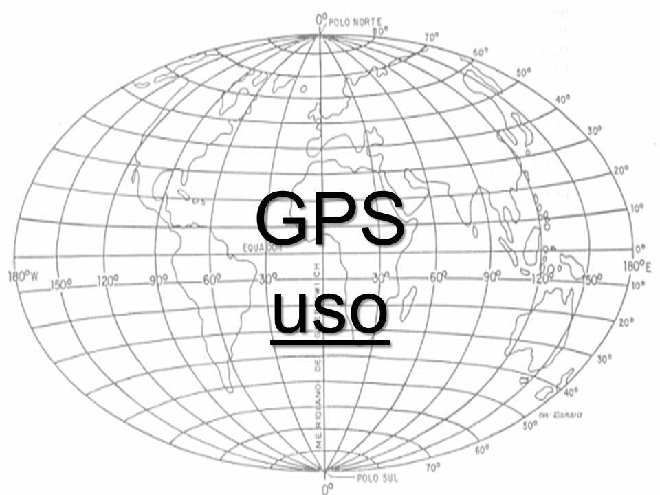 GPS uso