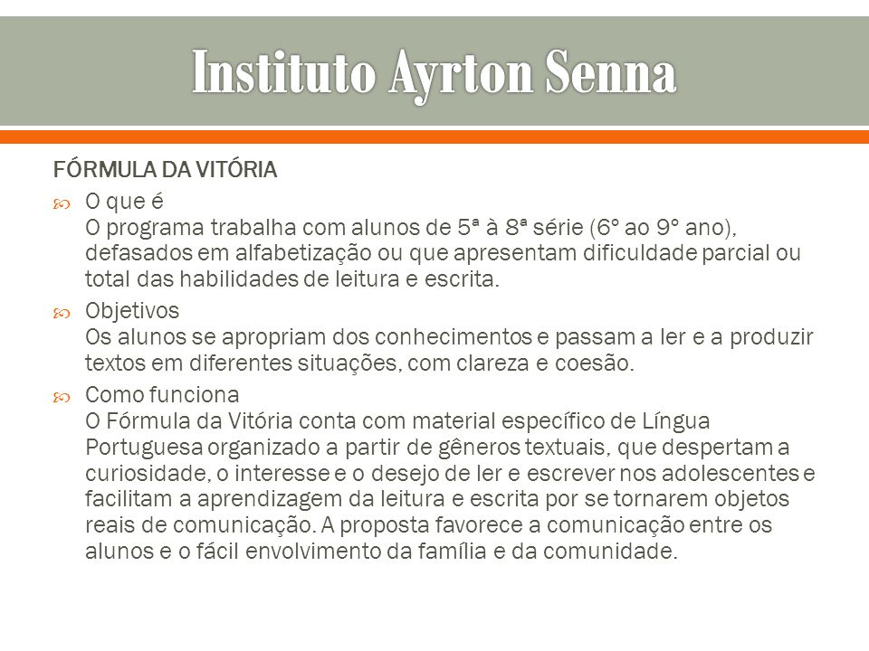 Instituto Ayrton Senna