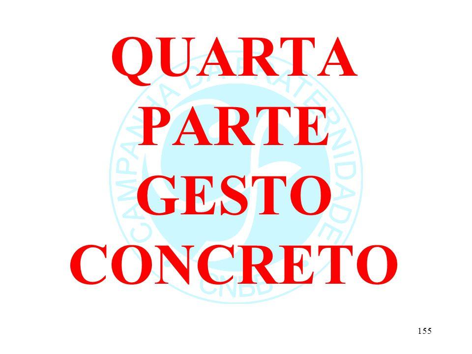 QUARTA PARTE GESTO CONCRETO