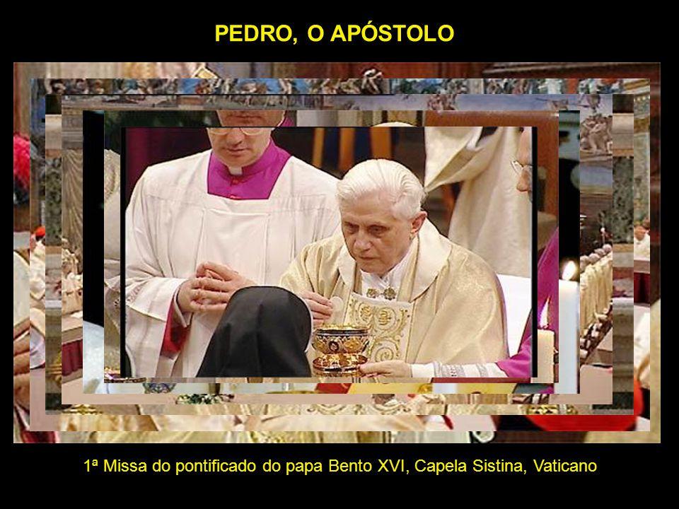 1ª Missa do pontificado do papa Bento XVI, Capela Sistina, Vaticano