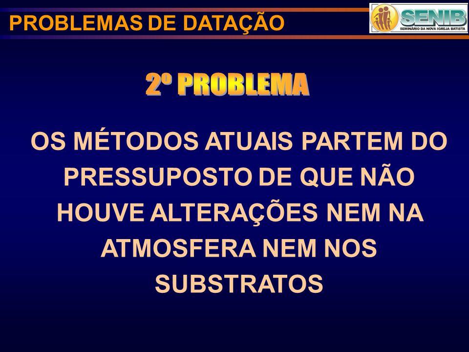 PROBLEMAS DE DATAÇÃO 2º PROBLEMA.