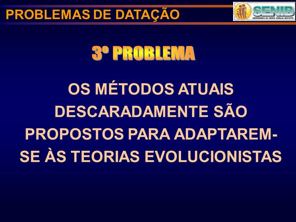 PROBLEMAS DE DATAÇÃO 3º PROBLEMA.