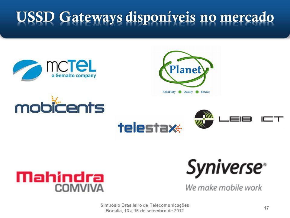 USSD Gateways disponíveis no mercado