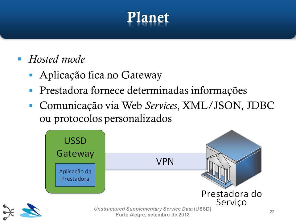 Planet Hosted mode Aplicação fica no Gateway