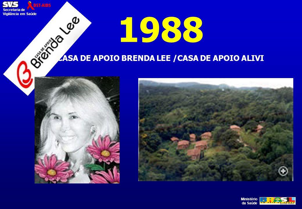 CASA DE APOIO BRENDA LEE /CASA DE APOIO ALIVI
