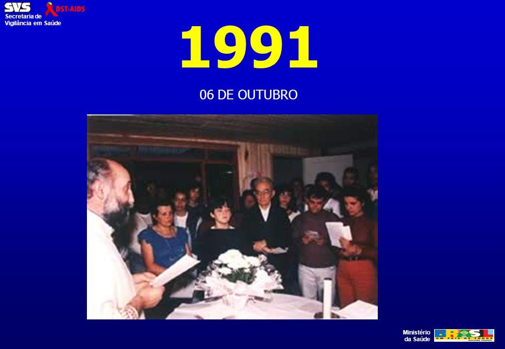 1991 06 DE OUTUBRO. NÃO ESTAMOS APENAS TENTANDO CONTROLAR UM VÍRUS BIOLÓGICO.