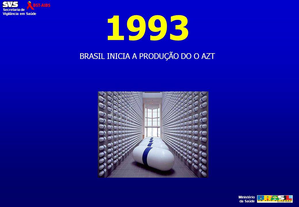 BRASIL INICIA A PRODUÇÃO DO O AZT