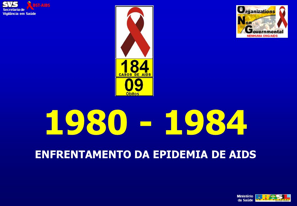 ENFRENTAMENTO DA EPIDEMIA DE AIDS