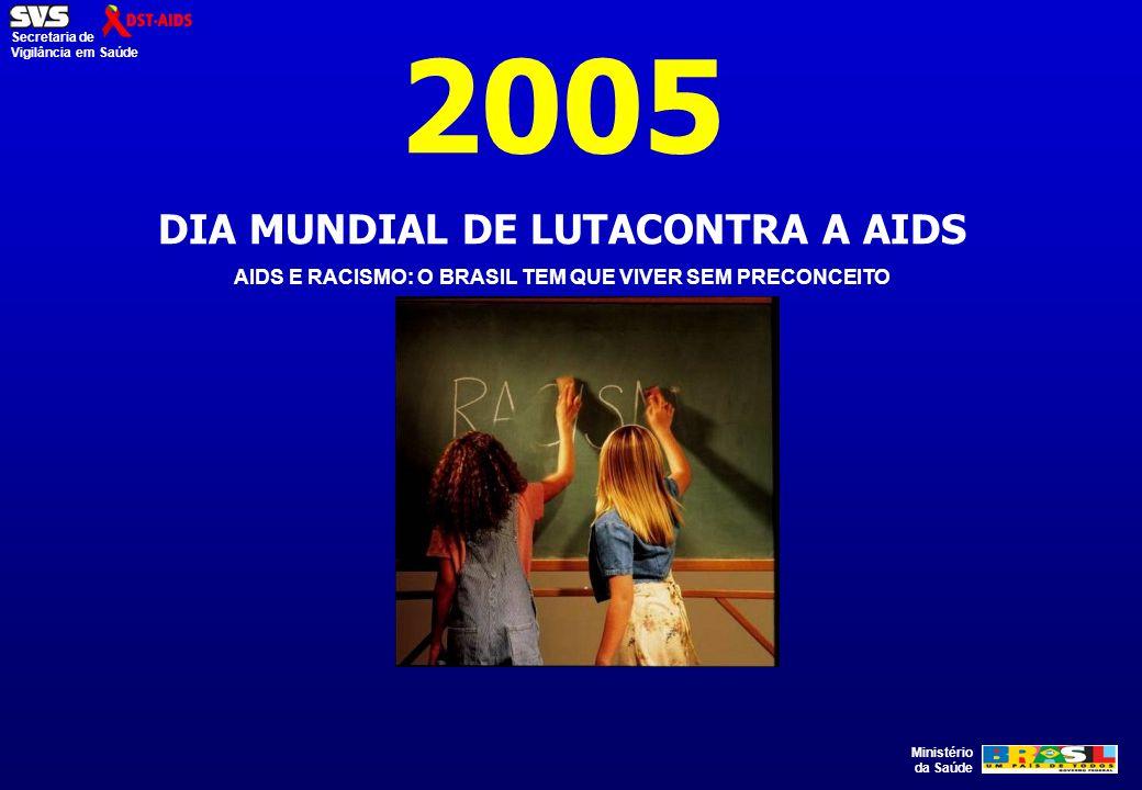 2005 DIA MUNDIAL DE LUTACONTRA A AIDS