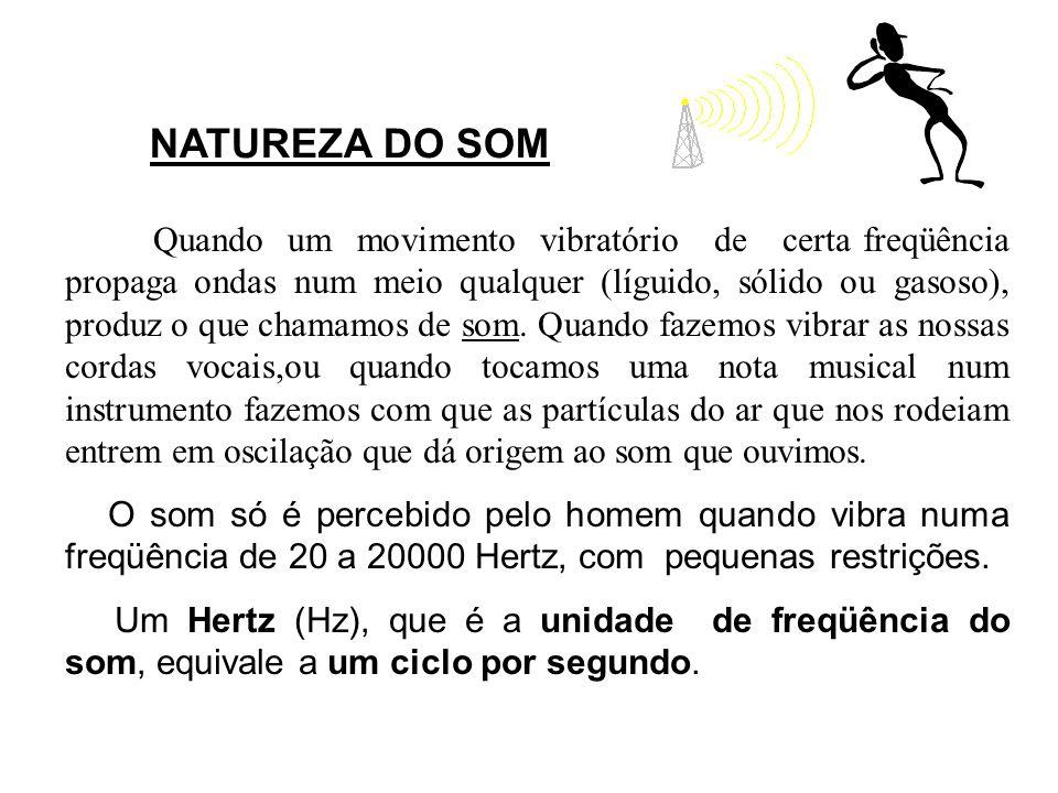 NATUREZA DO SOM