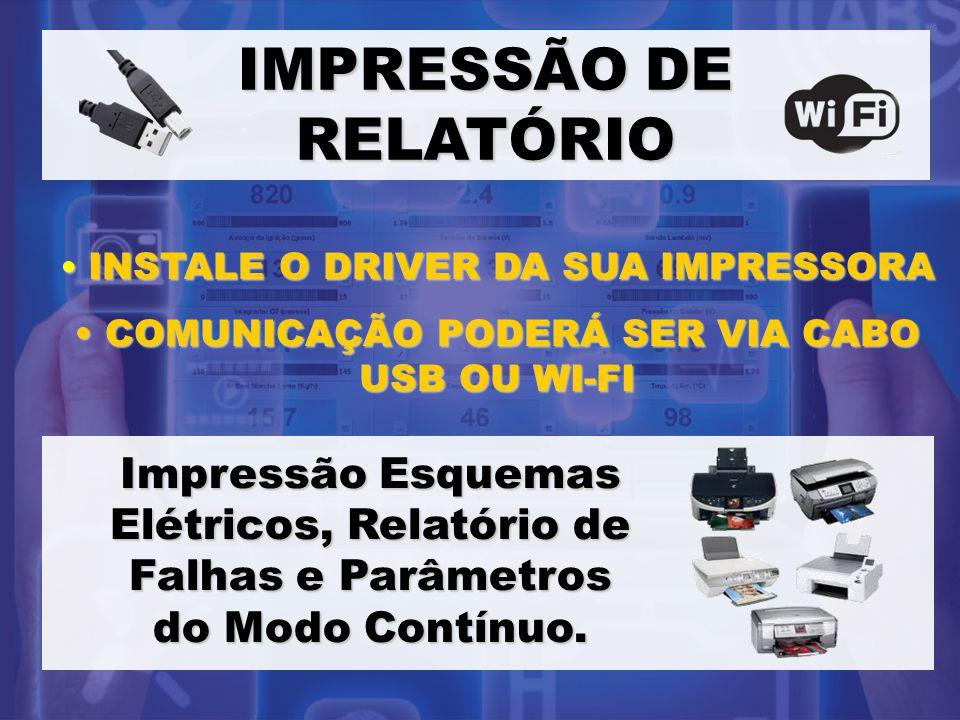 IMPRESSÃO DE RELATÓRIO