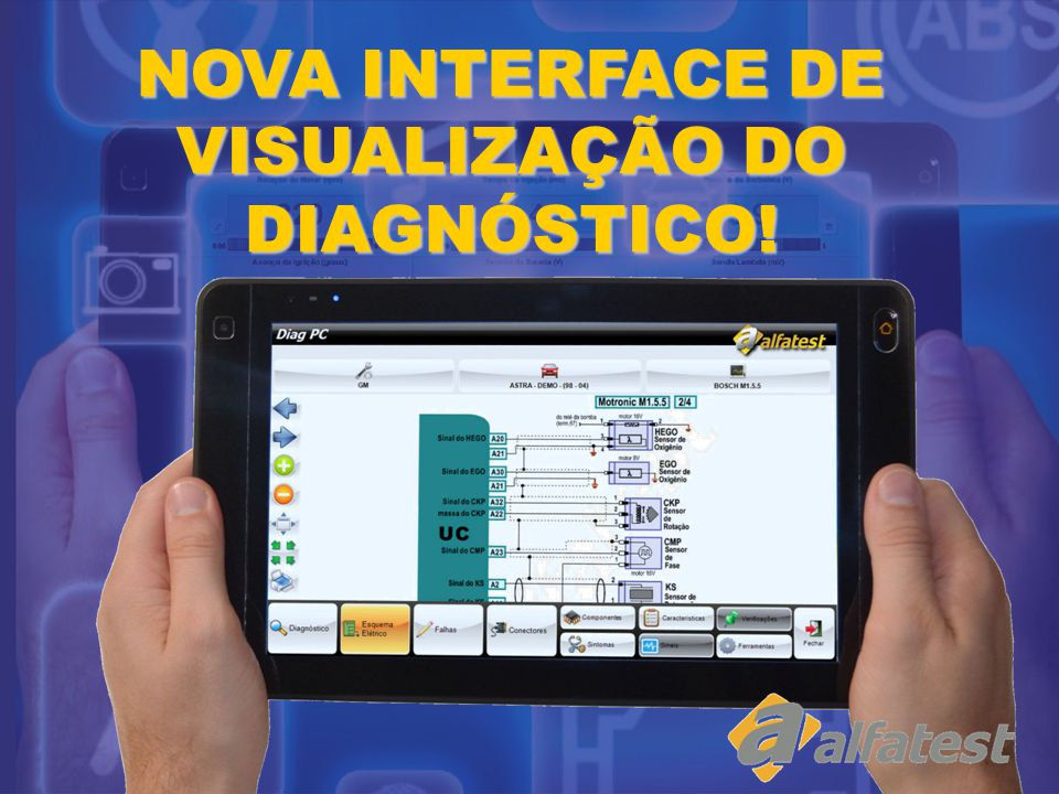 NOVA INTERFACE DE VISUALIZAÇÃO DO DIAGNÓSTICO!